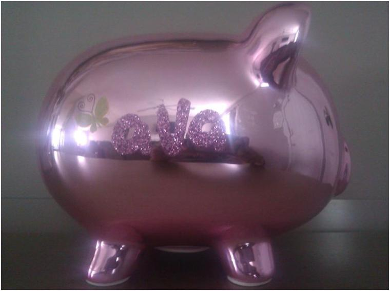 Piggy Bank with Name
