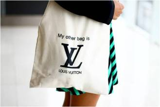 My other bag is Louis Vuitton