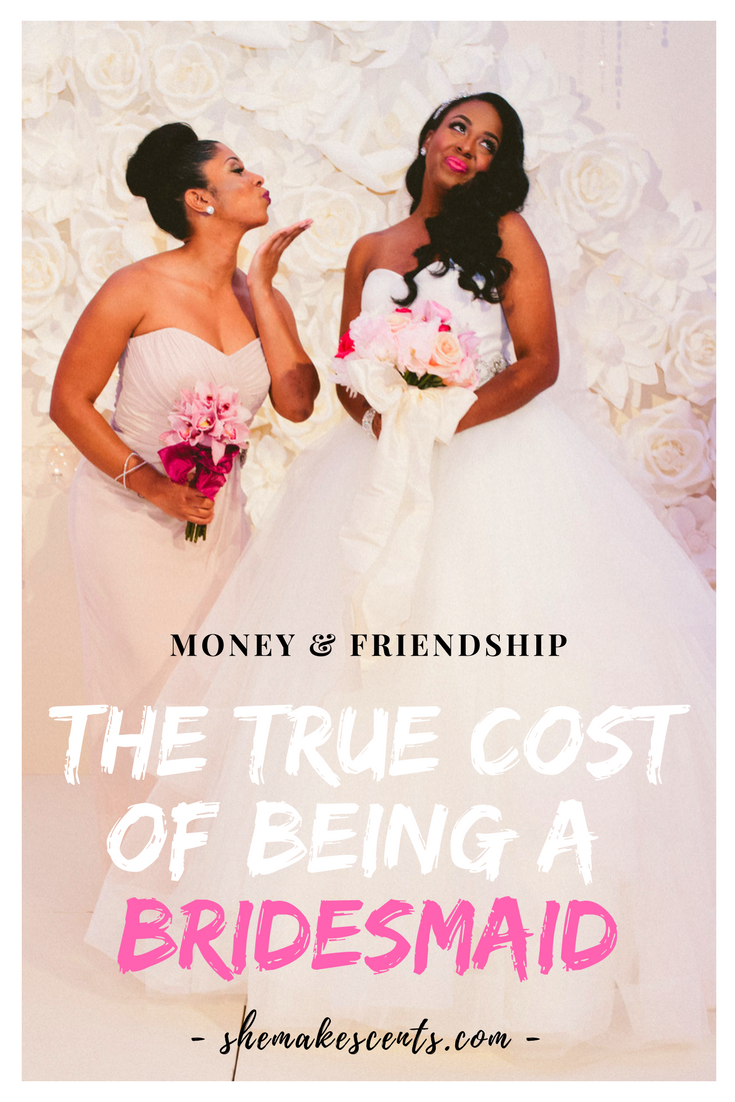The Real Cost of Being A Bridesmaid from Top Atlanta Blogger and Wedding Designer, Danielle YB Vason of She Makes Cents