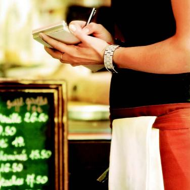 {Lifestyle} Tipping at a Restaurant: a minimum of 15% pre tax