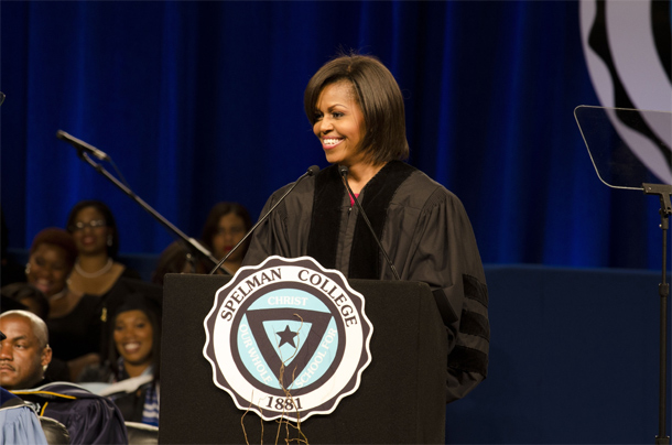 Michelle-Obama-Speaks-at-Spelman-College