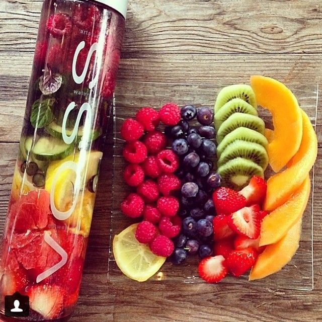 fruit infused voss water