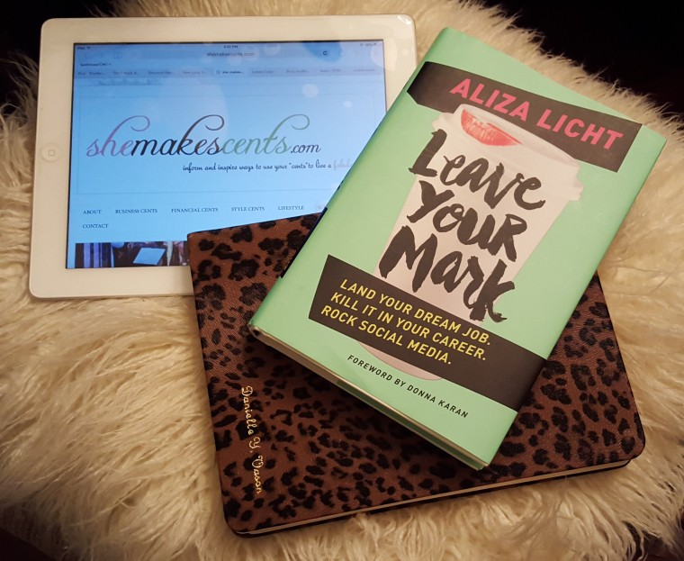 SheMakesCents.com Book Club- Leave Your Mark