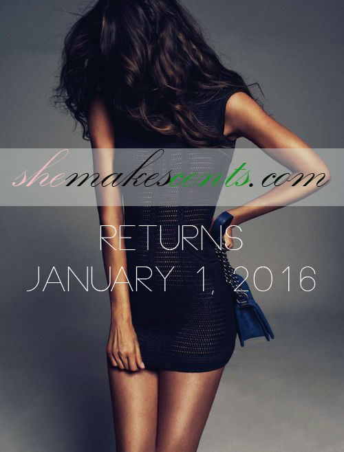 {The Countdown Begins} She Makes Cents Returns