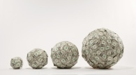 Growing balls of money
