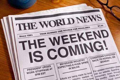 Weekend Headline TGIF