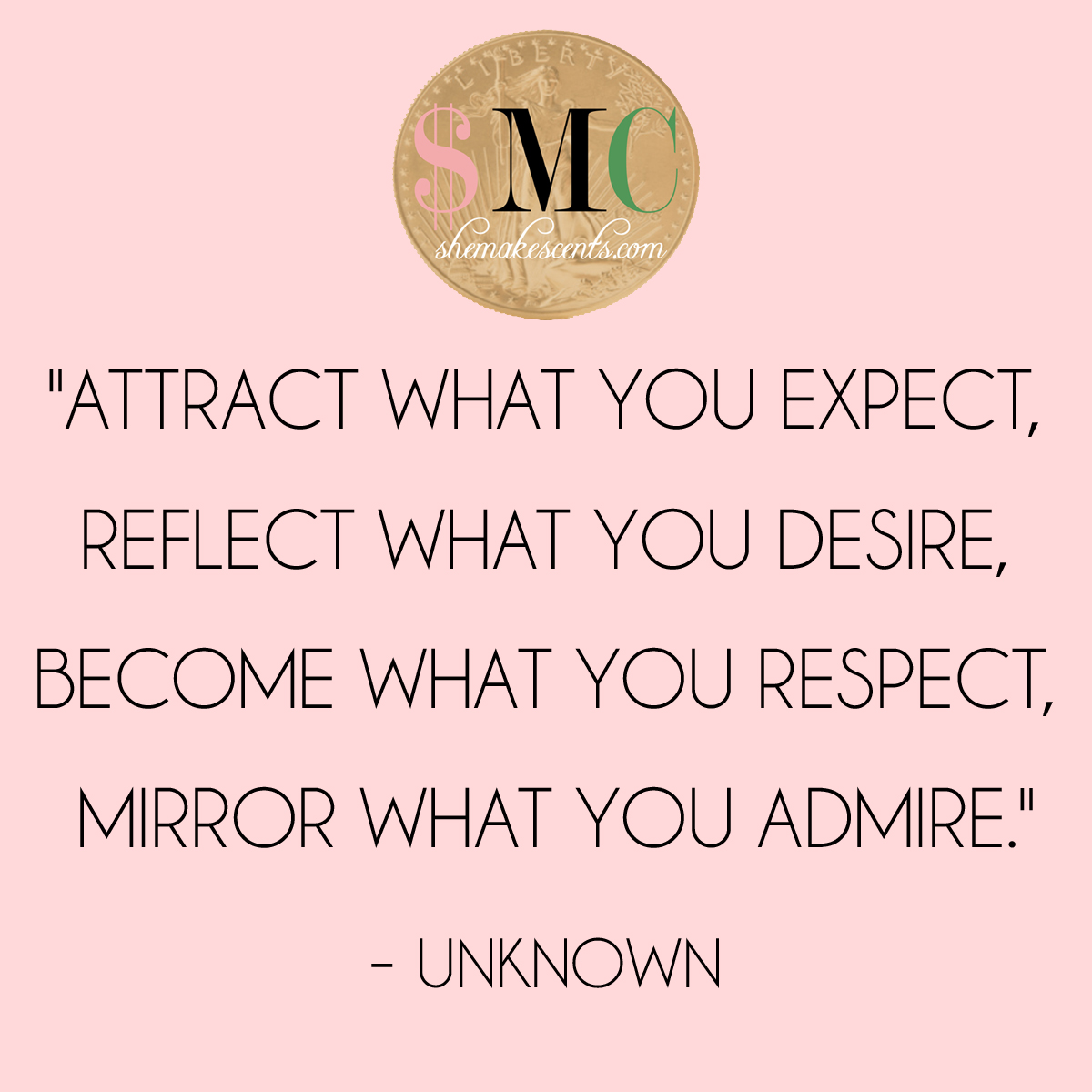 Positive Quotes For Women: {Monday Motivation} Attract What You Expect