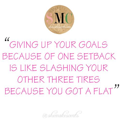 Goals and Setbacks