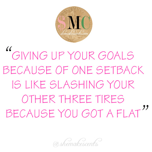 Goals and Setbacks