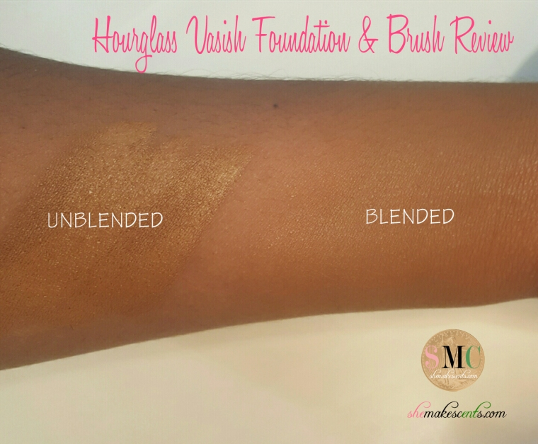 Hourglass Vanish Foundation Stick and Brush Review
