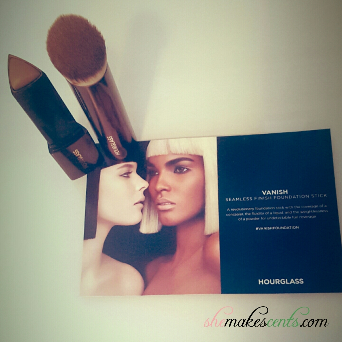 {Splurge or Save} Hourglass Vanish Seamless Foundation Stick & Brush Review