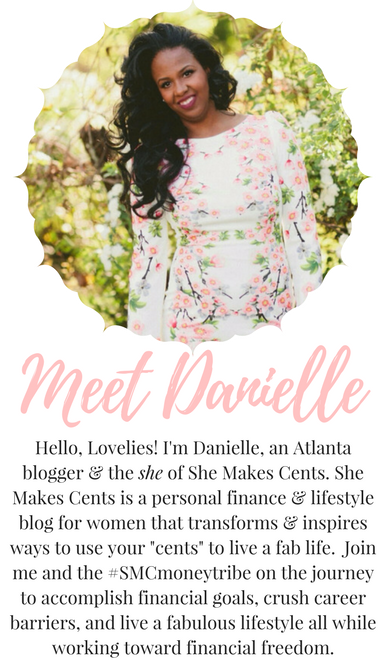 Top Atlanta Personal Finance and Lifstyle Blogger, Danielle YB Vason