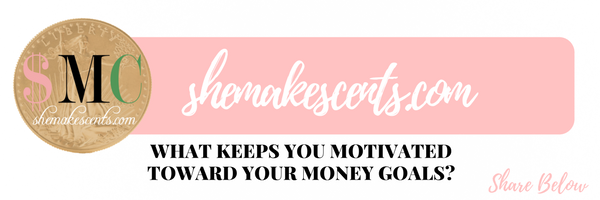 See how finance and lifestyle blogger, Danielle YB Vason of She Makes Cents, stays motivated toward her money goals to pay off debt