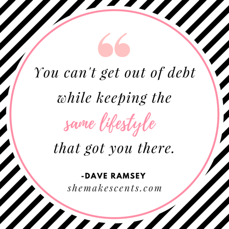 Money Quotes from Dave Ramsey on Personal Finance Blog, She Makes Cents