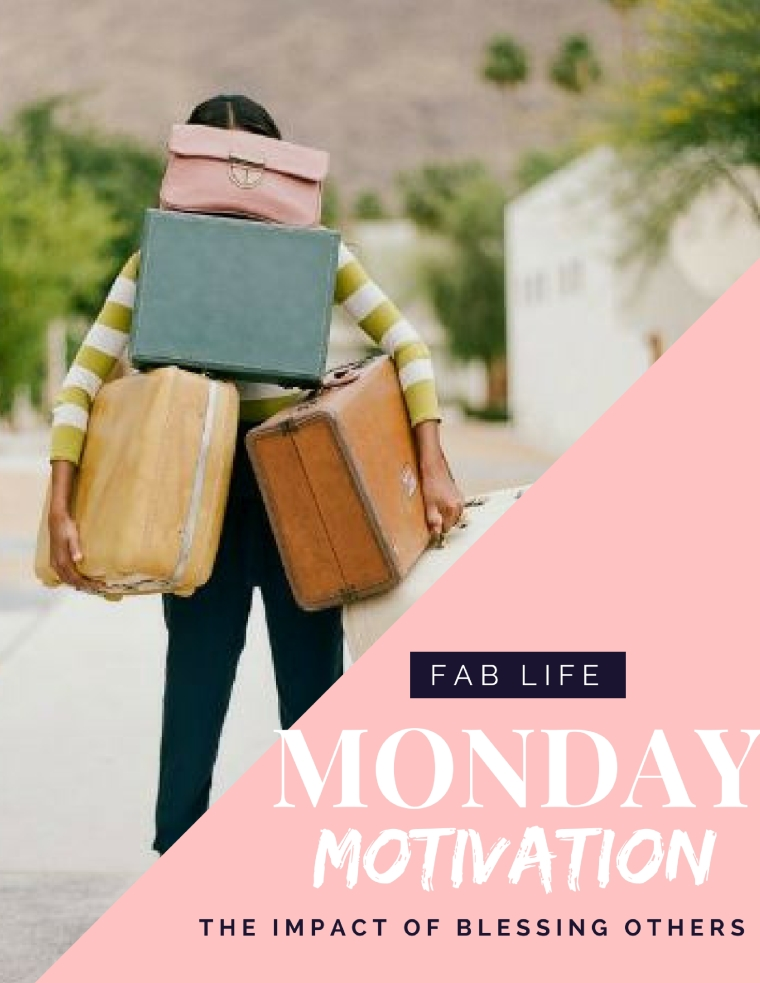 Monday Motivation | Charge from top blogger, Danielle YB Vason, to bless someone else today | What is a blessing bag?