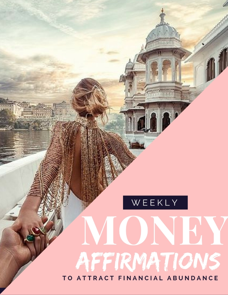 Money Affirmations to Manifest Abundance from Personal Finance Blog for Women, She Makes Cents by Danielle YB Vason | Law of Attraction