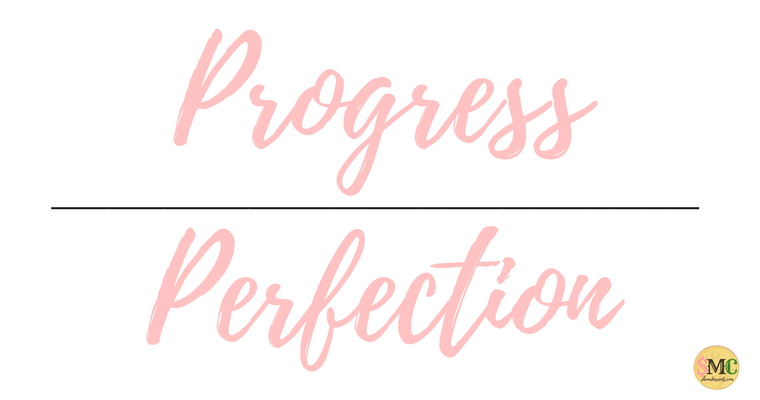 Progress Over Perfection | Ways to Defeat Self Sabotage from Top Millennial Blog, She Makes Cents