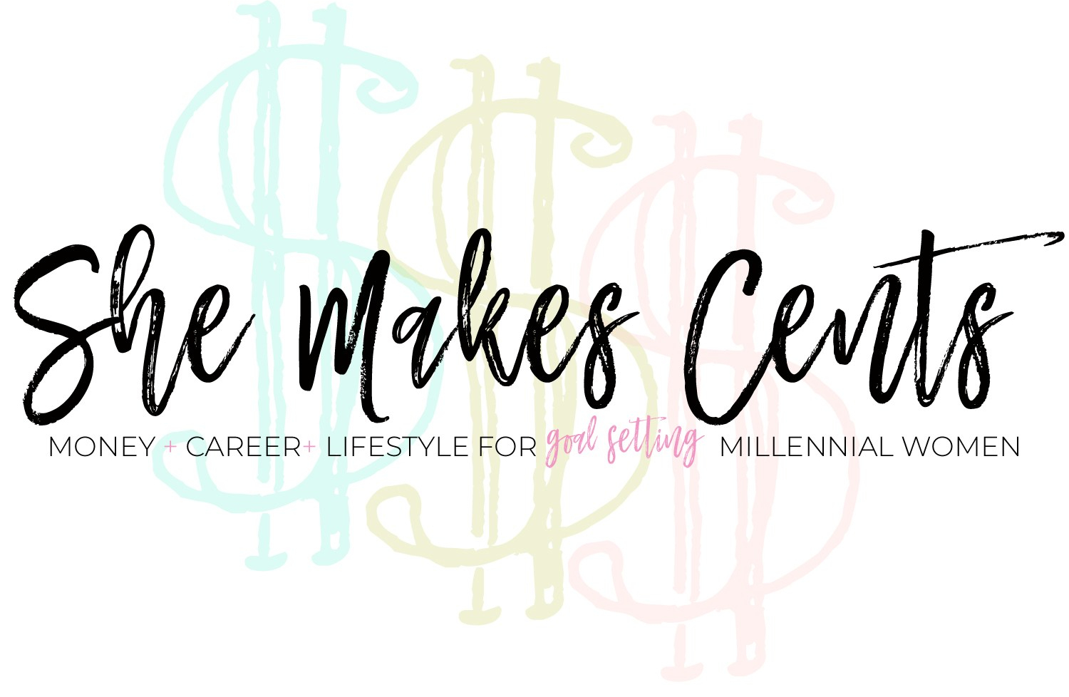 She Makes Cents Logo- from Top Atlanta Blogger, Danielle YB Vason