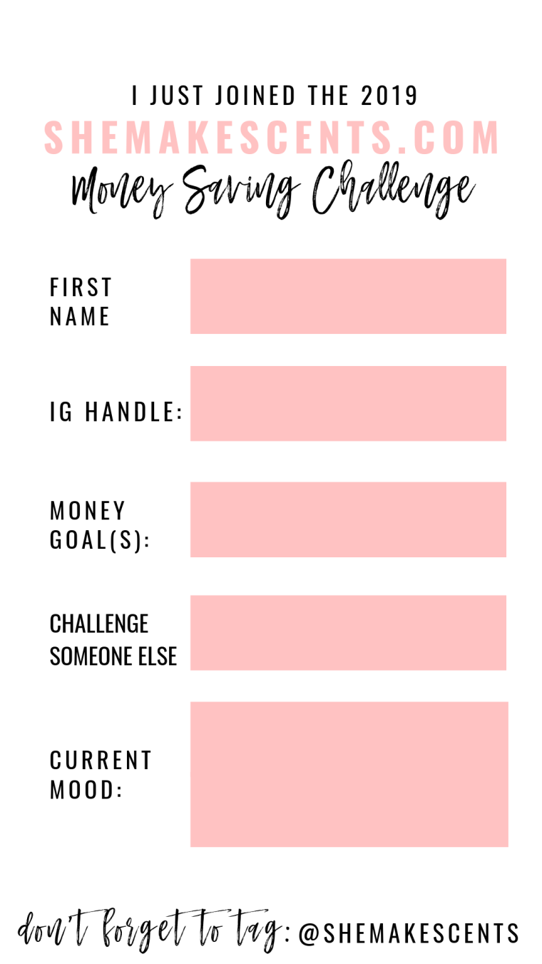 How to Join the Best Money Saving Challenge from Personal Finance Blog, She Makes Cents