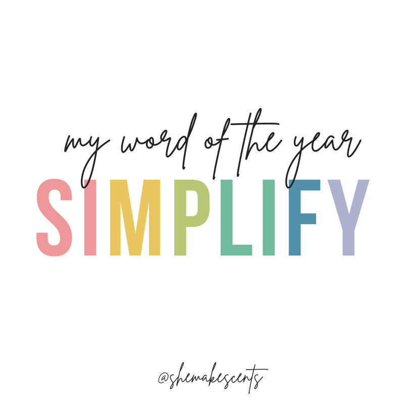 Power Word of the Year 2021 by Top Personal Finance and Lifestyle Blogger, Danielle YB Vason, of She Makes Cents.